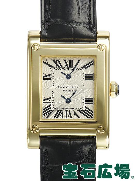 カルティエ タンクアビス 2タイムゾーン W1534251【中古】 メンズ 腕時計 送料・代引手数料無料