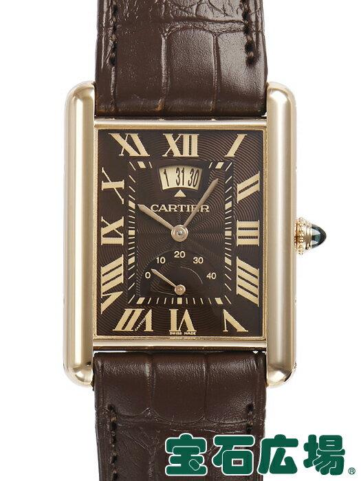 カルティエ タンク ルイ カルティエ マニュアルデイト W1560002【中古】 メンズ 腕時計 送料・代引手数料無料