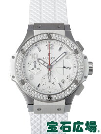 ウブロ ビッグバン スチール ホワイトダイヤモンド 342.SE.230.RW.114【新品】 メンズ 腕時計 送料無料