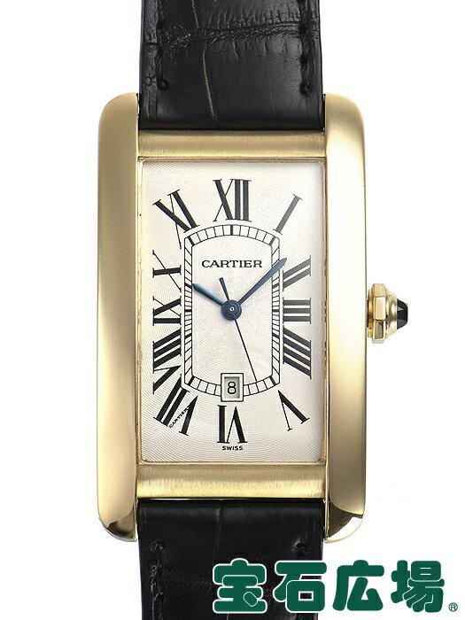 カルティエ タンクアメリカン LM W2603156【中古】 メンズ 腕時計 送料・代引手数料無料