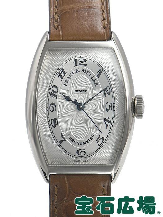 フランク・ミュラー トノウカーベックスクロノメトロ 5850CHRONOMETRO【中古】 メンズ 腕時計 送料・代引手数料無料