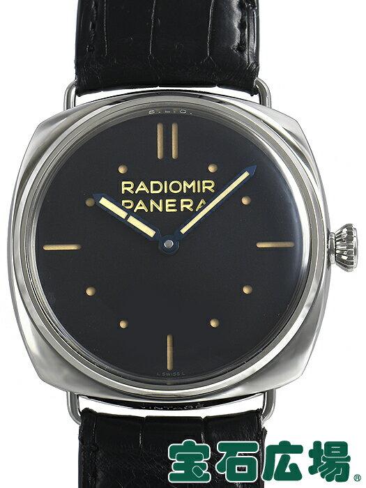 パネライ ラジオミール S.L.C 3デイズ 750本限定 PAM00449【中古】 メンズ 腕時計 送料・代引手数料無料