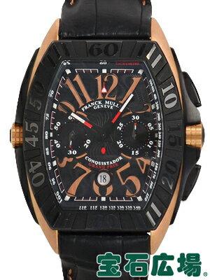フランク・ミュラー コンキスタドール グランプリ クロノグラフ 9900CCGP【中古】 メンズ 腕時計 送料・代引手数料無料