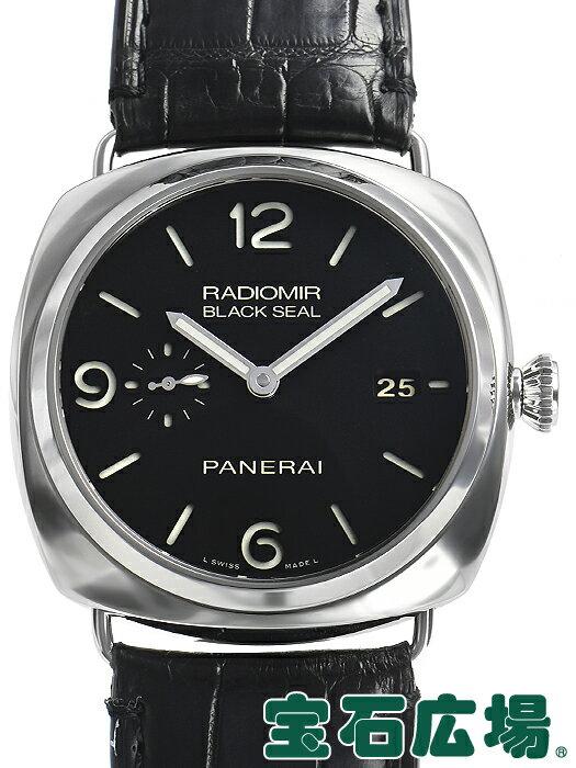 パネライ ラジオミールブラックシール 3デイズオートマチック45mm PAM00388【中古】 メンズ 腕時計 送料・代引手数料無料