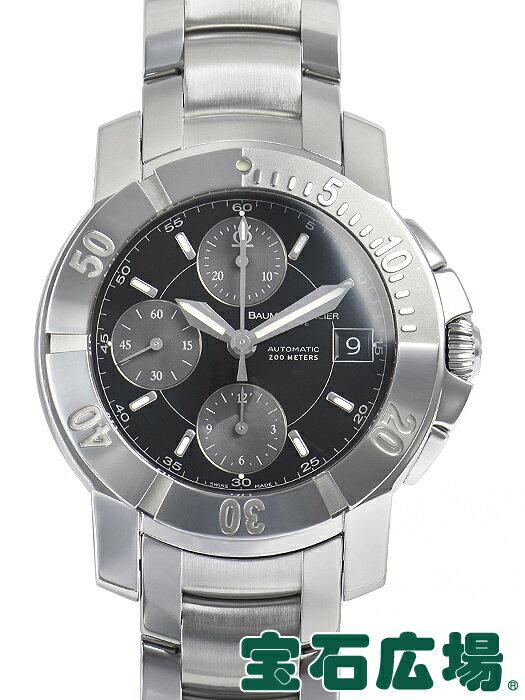 ボーム&メルシエ ケープランド Sクロノ MOA08502【中古】 メンズ 腕時計 送料・代引手数料無料