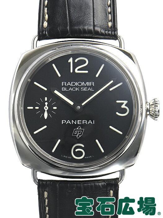 パネライ PANERAI ラジオミール ブラックシール LOGO PAM00380【中古】 メンズ 腕時計 送料・代引手数料無料