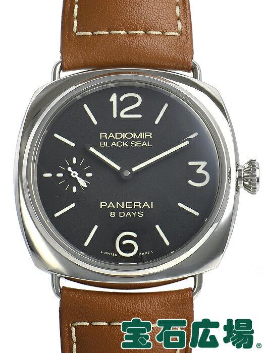 パネライ PANERAI ラジオミール ブラックシール 8デイズ アッチャイオ PAM00609【中古】 メンズ 腕時計 送料・代引手数料無料