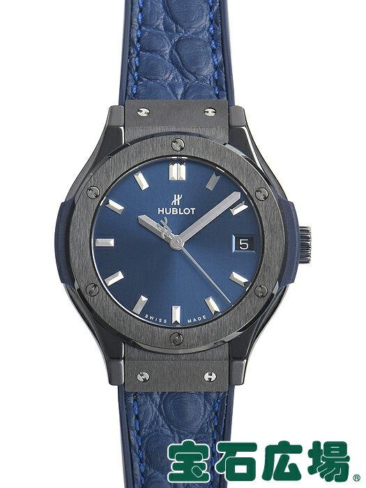 ウブロ クラシックフュージョンセラミックブルー 581.CM.7170.LR【新品】 レディース 腕時計 送料・代引手数料無料