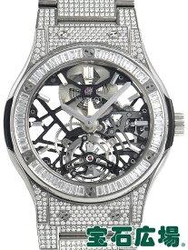 ウブロ HUBLOT クラシックフュージョン トゥールビヨンチタニウムダイヤモンド 505.NX.0170.NX.3904【新品】 メンズ 腕時計 送料無料