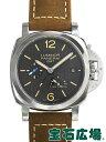 パネライ ルミノールマリーナ1950 3デイズ GMT パワーリザーブ アッチャイオ PAM01537【新品】 メンズ 腕時計 送料・…
