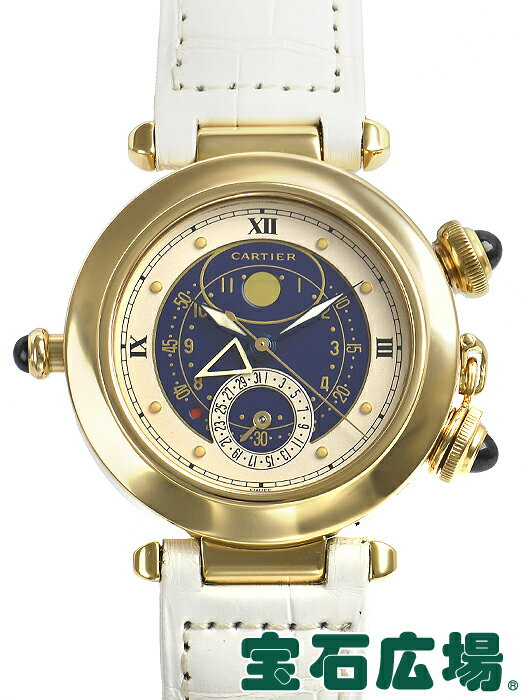 カルティエ Cartier パシャ38 W3001151【中古】 メンズ 腕時計 送料・代引手数料無料
