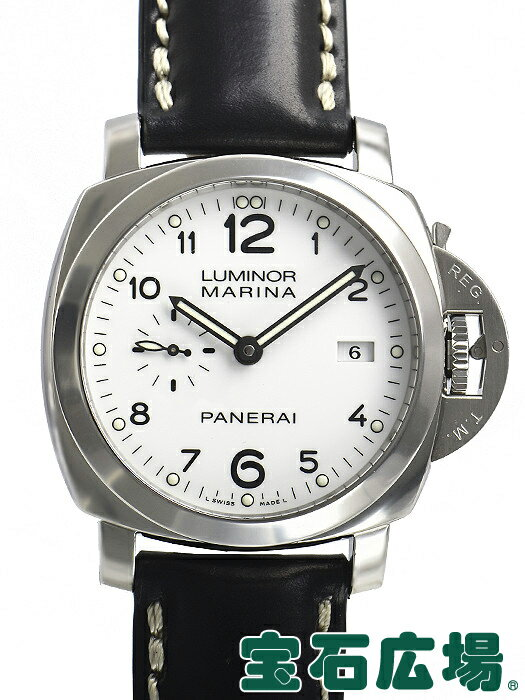 パネライ PANERAI ルミノール1950 マリーナ3デイズ オートマチック アッチャイオ PAM00499【中古】 メンズ 腕時計 送料・代引手数料無料