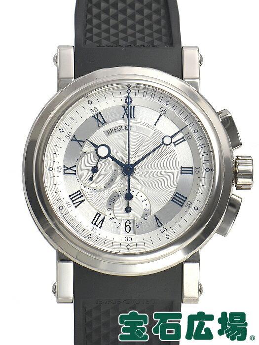 ブレゲ BREGUET マリーン クロノグラフ 5827BB/12/5ZU【中古】 メンズ 腕時計 送料・代引手数料無料