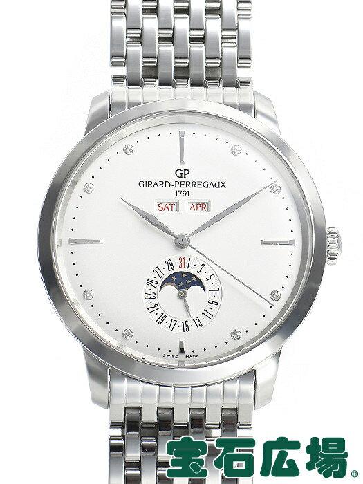 ジラール・ペルゴ Girard-Perregaux 1966フルカレンダー 49535-11-1A2-11A【中古】 メンズ 腕時計 送料・代引手数料無料