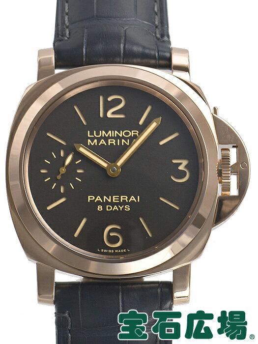 パネライ PANERAI ルミノールマリーナ 8デイズ PAM00511【中古】 未使用品 メンズ 腕時計 送料・代引手数料無料