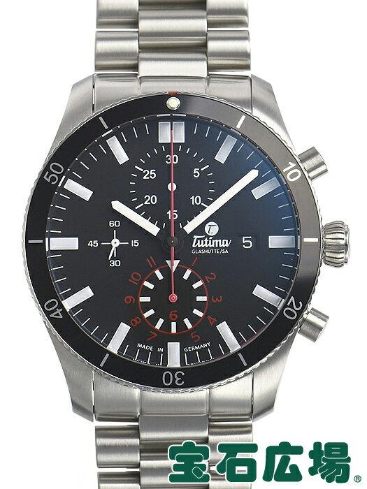 チュチマ TUTIMA グランドフリーガーエアポートクロノグラフ 6401-02【新品】 メンズ 腕時計 送料・代引手数料無料