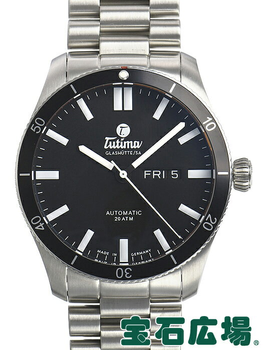 チュチマ TUTIMA グランドフリーガーエアポートオートマティック 6101-02【新品】 メンズ 腕時計 送料・代引手数料無料