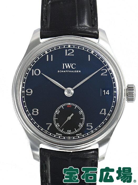 IWC ポルトギーゼ ハンドワインド 8Days IW510202【中古】 メンズ 腕時計 送料・代引手数料無料