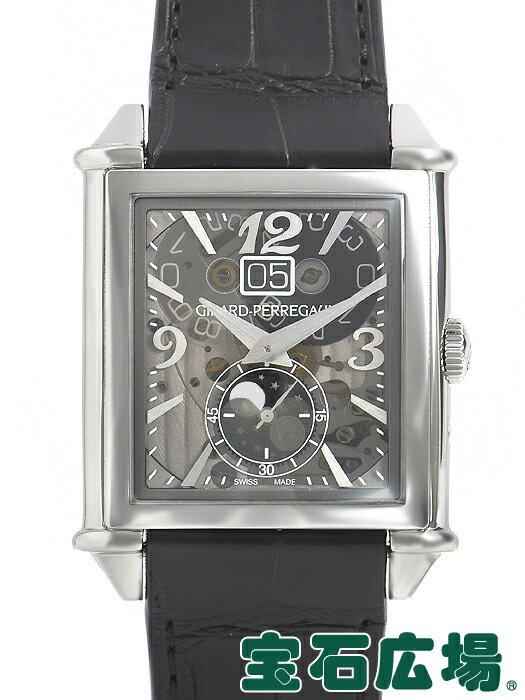 ジラール・ペルゴ GIRARD PERREGAUX ヴィンテージ 1945XXLラージデイト&ムーンフェイズ 25882-11-223-BB6B【新品】 腕時計 メンズ 送料・代引手数料無料