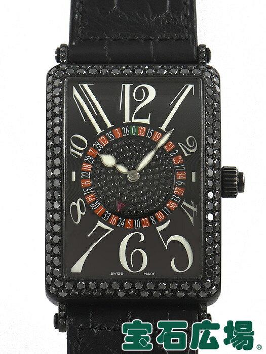 フランク・ミュラー FRANCK MULLER ロングアイランド ヴェガス ファーストエディションブラック 世界限定10本 1250VEGAS D 1P【中古】メンズ 腕時計 送料・代引手数料無料