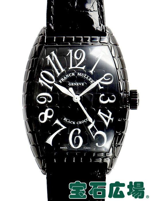 フランク・ミュラー FRANCK MULLER トノウカーベックス ブラッククロコ 7880SC BLK CRO【中古】 メンズ 腕時計 送料・代引手数料無料