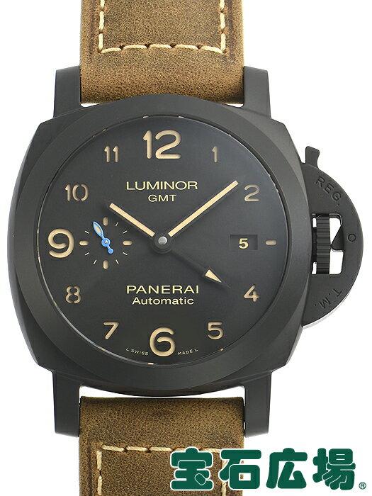 パネライ PANERAI ルミノール1950 3デイズ GMT オートマチック チェラミカ PAM01441【新品】 メンズ 腕時計 送料・代引手数料無料