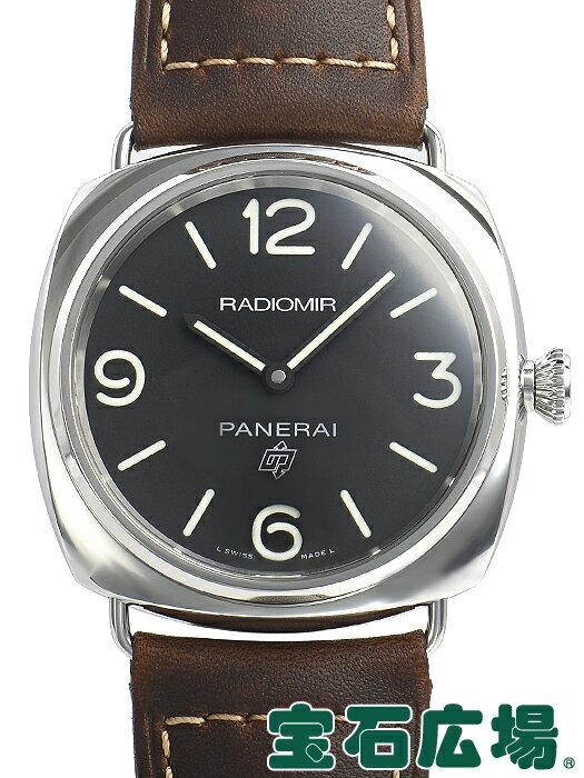 パネライ PANERAI ラジオミール ロゴ3デイズ アッチャイオ PAM00753【新品】 メンズ 腕時計 送料・代引手数料無料