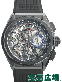 ゼニス ZENITH デファイ エルプリメロ21 ブラックセラミック 49.9000.9004/78.R782【新品】 メンズ 腕時計 送料無料