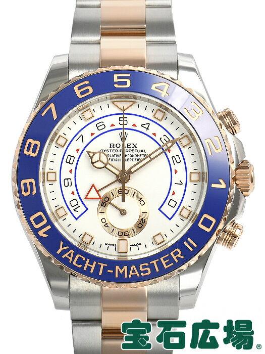 ロレックス ROLEX ヨットマスターII 116681【中古】 メンズ 腕時計 送料・代引手数料無料