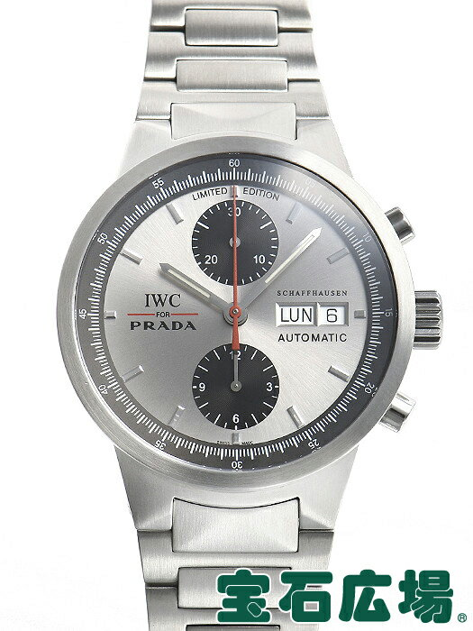 IWC GSTクロノ PRADA 世界2000本限定 IW370802【中古】 メンズ 腕時計 送料・代引手数料無料