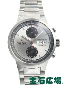306a3f597b7a 中古 IWC GSTクロノ PRADA 世界2000本限定 IW370802【中古】 メンズ 腕時計 送料・代引手数料無料