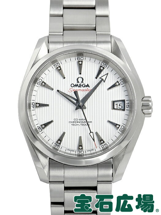 オメガ OMEGA シーマスター コーアクシャル アクアテラ クロノメーター(M) 231.10.39.21.54.001【中古】 メンズ 腕時計 送料・代引手数料無料