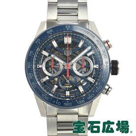 タグ・ホイヤー TAG HEUER カレラ キャリバーホイヤー02 クロノグラフ45mm CBG2A11.BA0654【新品】メンズ 腕時計 送料・代引手数料無料