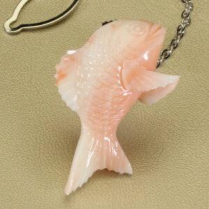 ピンクサンゴ ミッド珊瑚 タイタック 鯛 無染色 JUNSUI宝石サンゴ 天然 本さんご コーラル