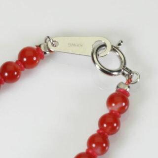血赤珊瑚ネックレス48cm