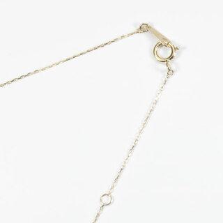 【SANSUI】K18ガーネ珊瑚ハートペンダント
