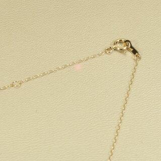 ミス珊瑚ピンクペンダントネックレス一粒クッションカットK18イエローゴールド無染色SANSUI宝石サンゴ天然本さんごコーラル