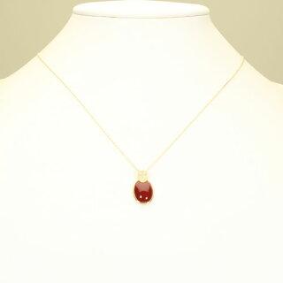 高知県産血赤珊瑚ペンダントネックレスK18YGイエローゴールド無染色レッドレディースSANSUI天然sango本さんごコーラル宝石サンゴ専門店