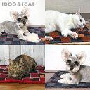 iDog&iCat ぬくぬくホットマット チェック【ネイビーグレー/レッドブラック/オレンジグリーン】【猫・犬用】【あった…