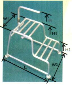 ミツル 2段式持ち手付アルミ踏み台 小 15cm+30cm