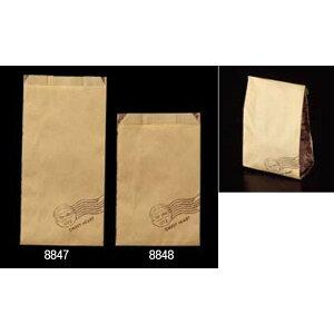 大阪ポリエチレン販売 8848 耐油紙袋 No189 GZ袋スイートハート(小) 120(マチ70)×175+18mm 1ケース2500枚入