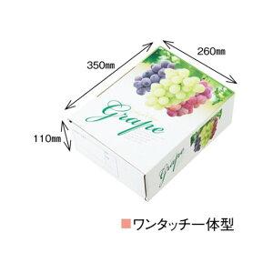 【農園名等必要】ぶどう用化粧箱 高級ぶどう A-4T 三色 370×280×115mm 1ケース50セット入り