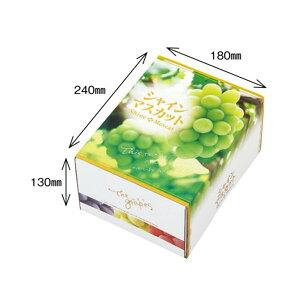 【農園名等必要】オリカ ぶどう用化粧箱 OS シャインマスカット 1.5kg 260×200×135mm 1ケース50セット入り