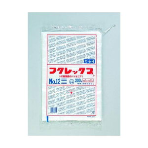 【店舗名等必要】福助工業 HD規格袋 フクレックス No.10 紐付 180×270mm 1ケース16000枚入り