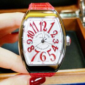 【新品】FRANCK MULLER フランクミュラー / ヴァンガード カラードリーム V32 SC AT FO AC RG ステンレススチール レディース 腕時計 watch【送料・代引手数料無料】