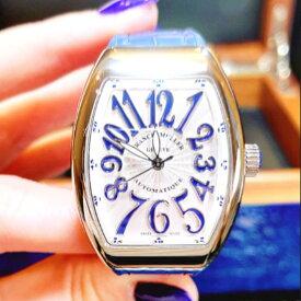 【新品】FRANCK MULLER フランクミュラー / ヴァンガード カラードリーム ステンレススチール V32 SC AT FO AC BU 腕時計 watch【送料・代引手数料無料】