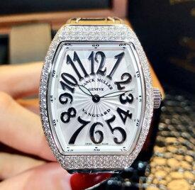 【新品】FRANCK MULLER フランクミュラー / ヴァンガード 純正ダイヤモンドベゼル ステンレススチール V32 QZ D AC NR 腕時計 watch【送料・代引手数料無料】