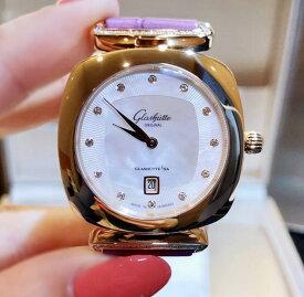 【新品】Glashutte original グラスヒュッテ オリジナル パボニーナ 1-03-01-08-05-34 18ローズゴールド レディース 腕時計 watch【送料・代引手数料無料】