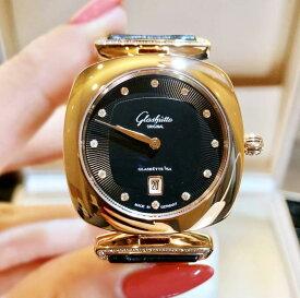 【新品】Glashutte original グラスヒュッテ オリジナル パボニーナ 1-03-01-28-05-30 18ローズゴールド レディース 腕時計 watch【送料・代引手数料無料】