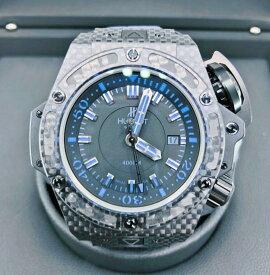 【新品】HUBLOT ウブロ キングパワー オーシャノグラフィック 4000 カーボンファイバー カーボン メンズ 腕時計 watch 731.QX.1190.GR.ABB12【送料・代引手数料無料】